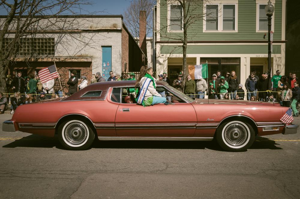 southie on st. patrick's day, 2013.