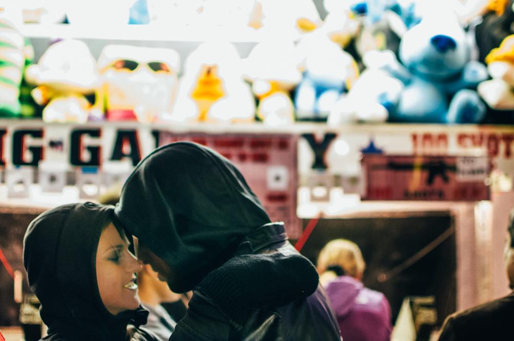 a carnival embrace, 2014.