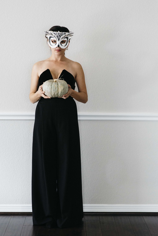 A Capsule Wardrobe Halloween Masquerade