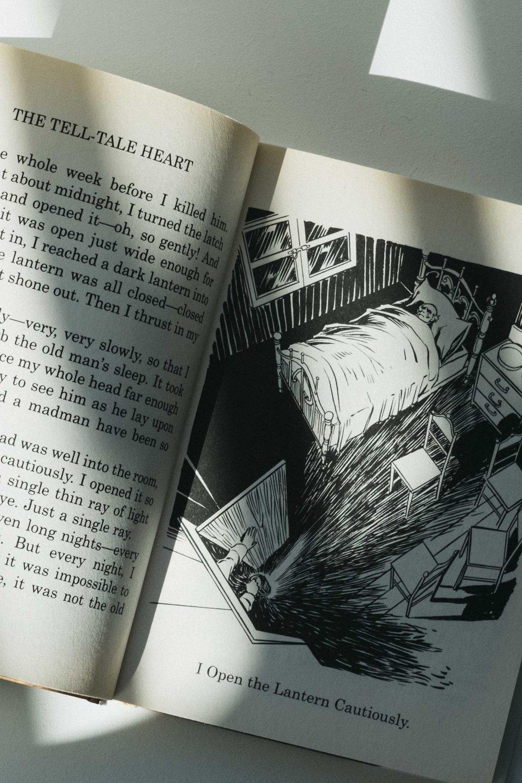 Edgar Allen Poe & The Tell-Tale Heart