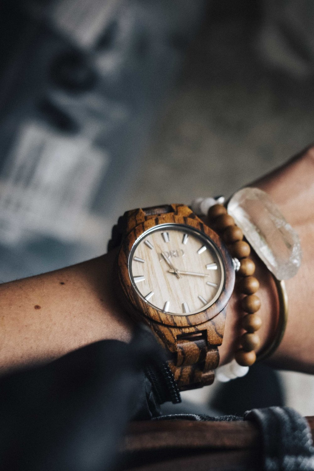 JORD Sustainable Wood Watch Style Outfit