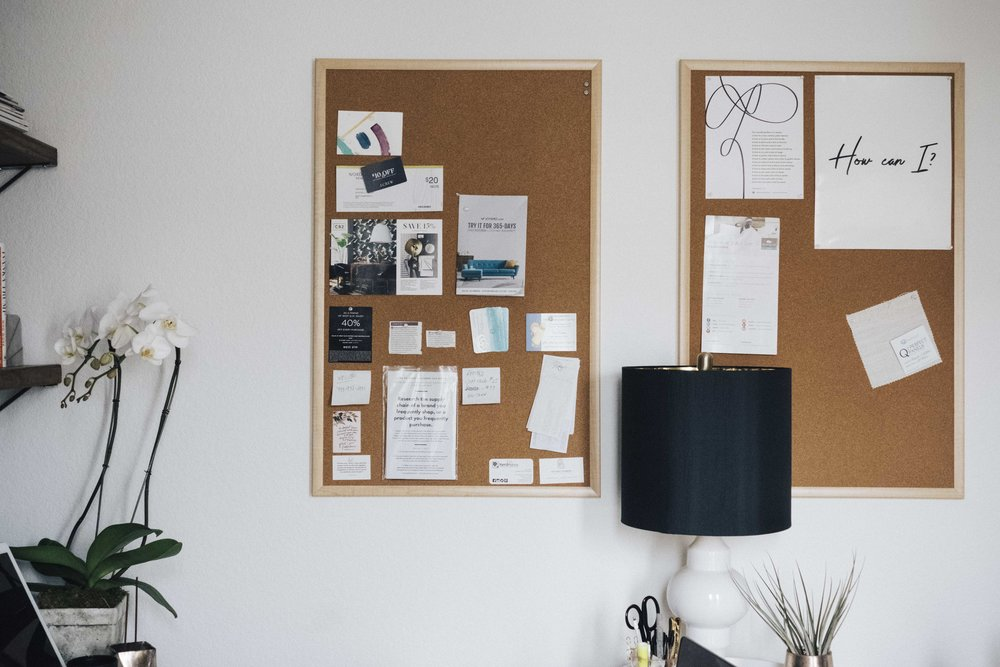 A Modern Industrial Organic Home Office Study Reveal