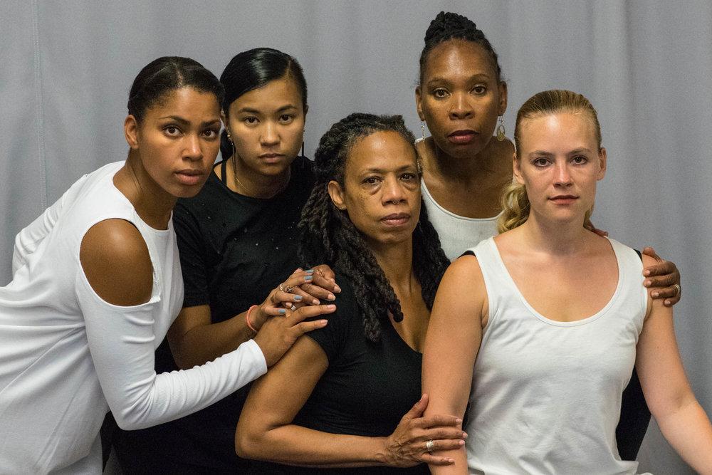 RootsUprising Choreographer: Nailah Randall-Bellinger Dancers:Jenny Oliver /Jeryl Pipapil /Toni Singleton /Kelsey Berry