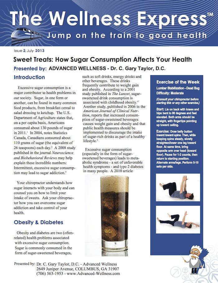 Heart Health, Emotional Wellness, Diet, Weight Management, Diabetes, Pre-Diabetes, Weekly Newsletter, Chiropractic, Chiropractor, Holistic