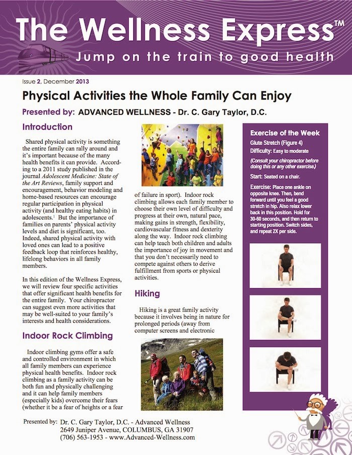 physical activities the whole family can enjoy