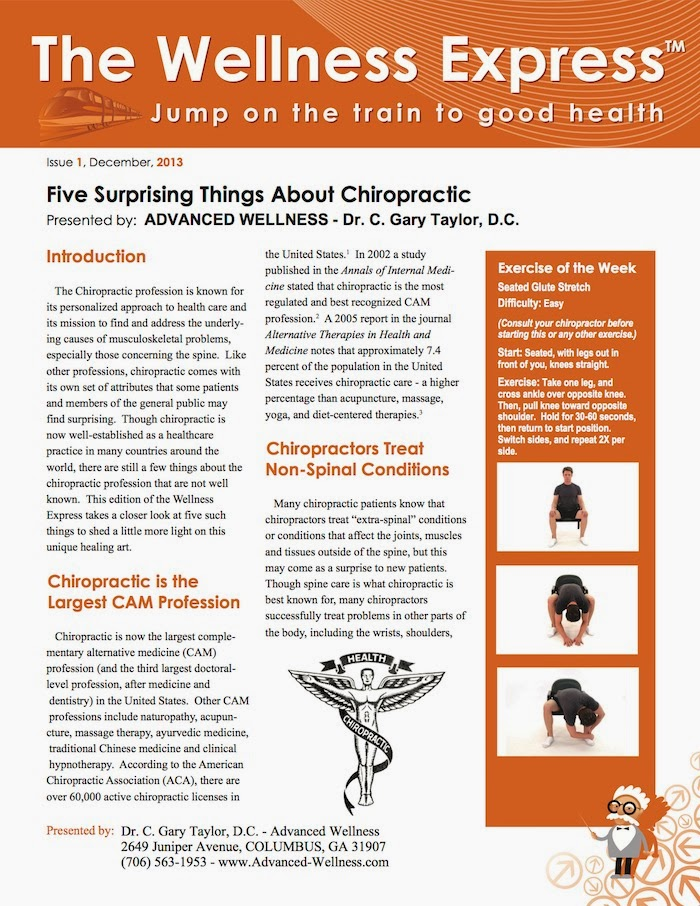 five surprising things about chiropractic