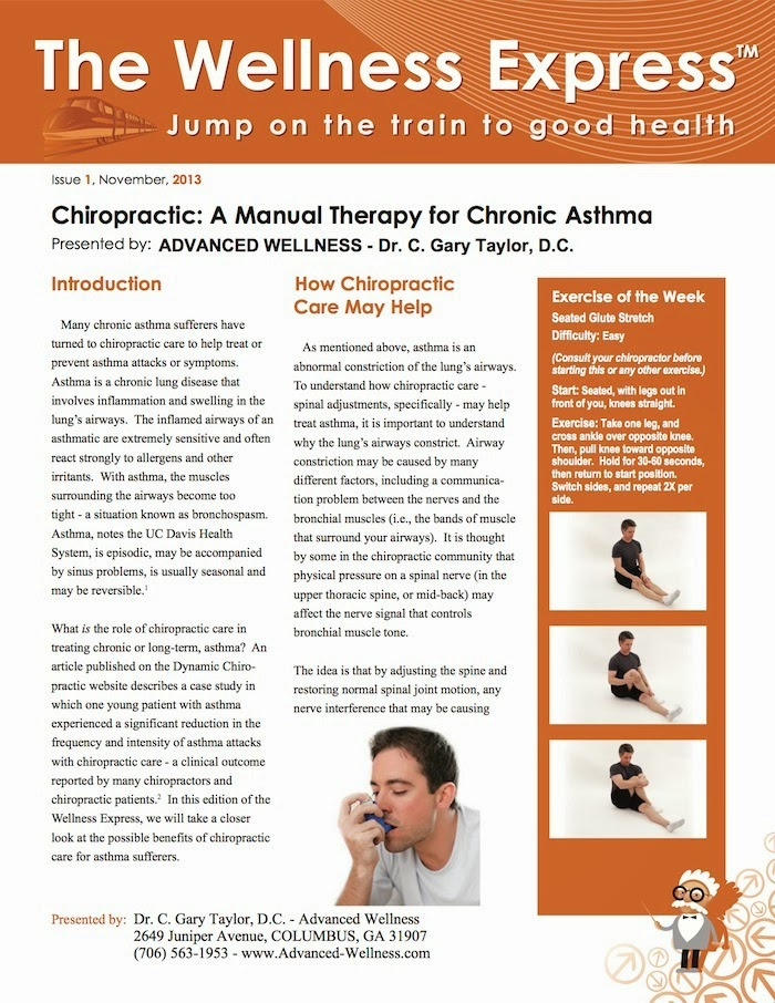 chiropractic: a manual therapy for chronic asthma