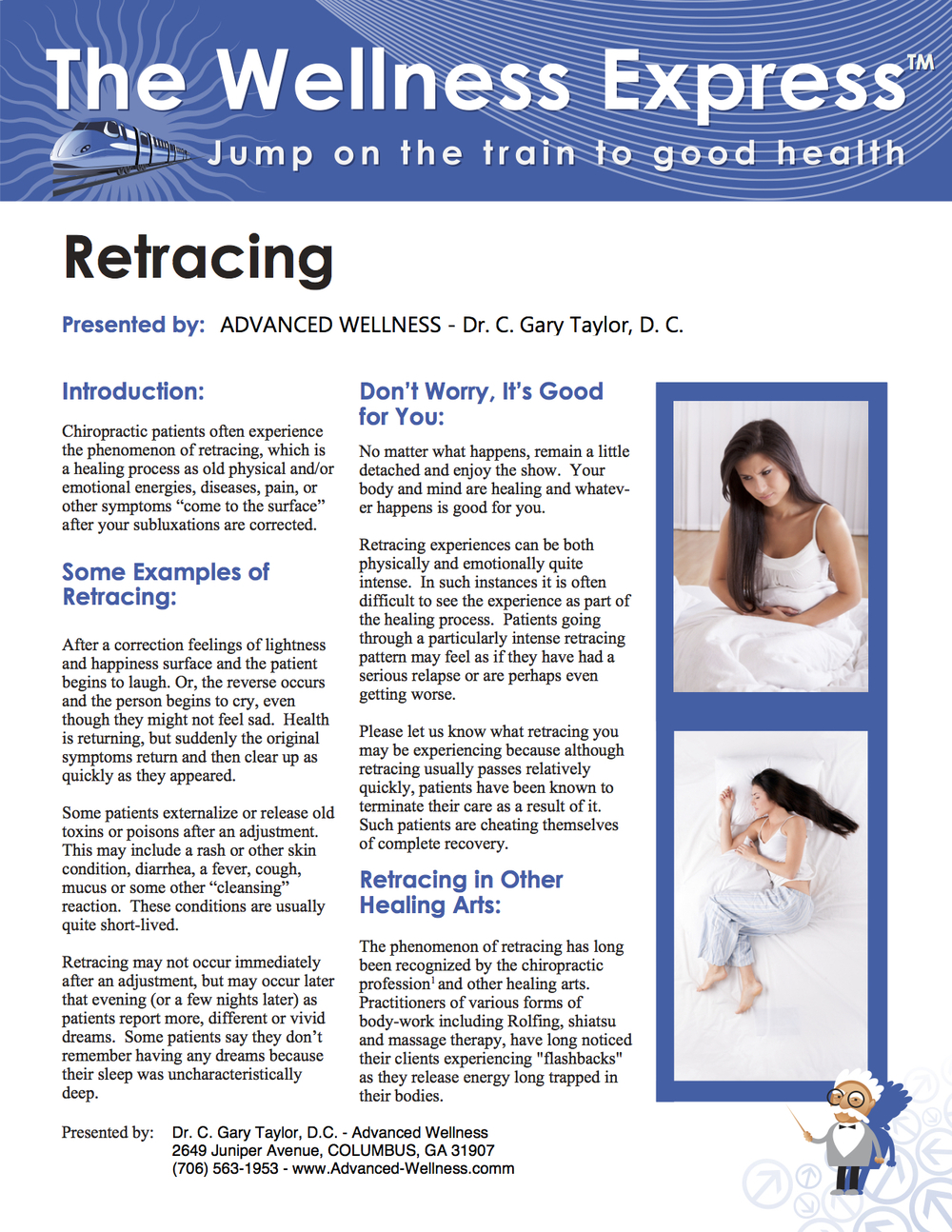 Weekly Newsletter: Retracing