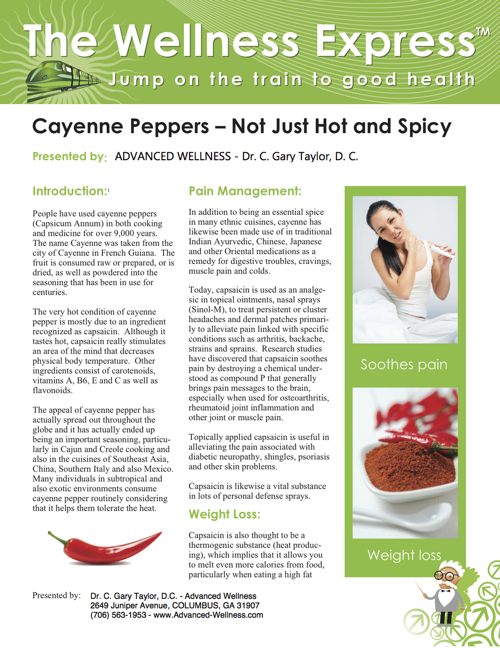 Weekly Newsletter: Cayenne Peppers: Not Just Hot and Spicy