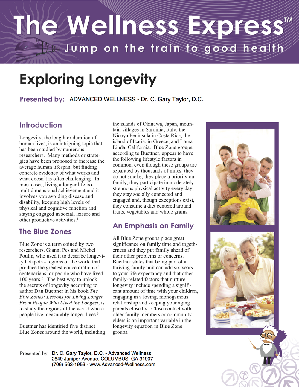Weekly Newsletter: Exploring Longevity