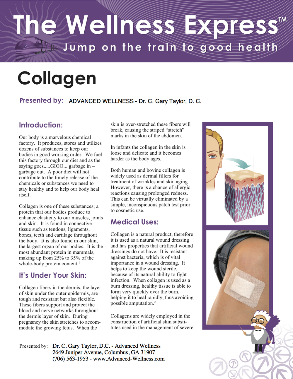 Weekly Newsletter: Collagen