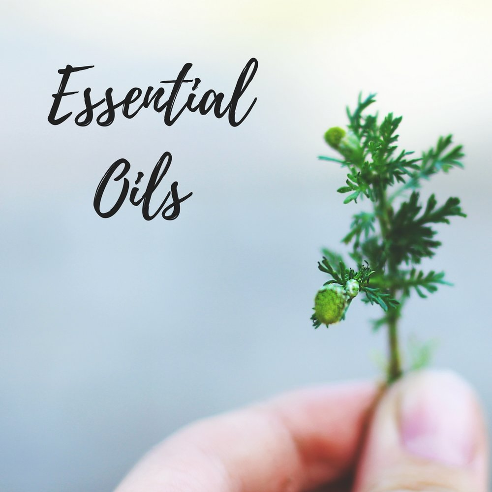 Essential Oils Ingredients list