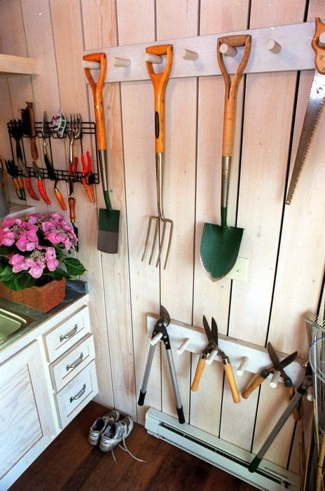 Clean, dry tool shed | Image:  JS online