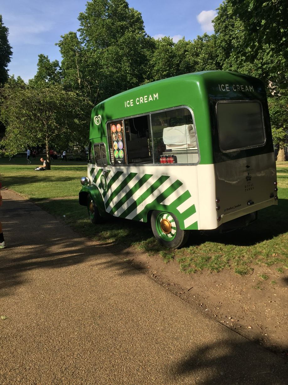 Ice cream truck, Hyde Park