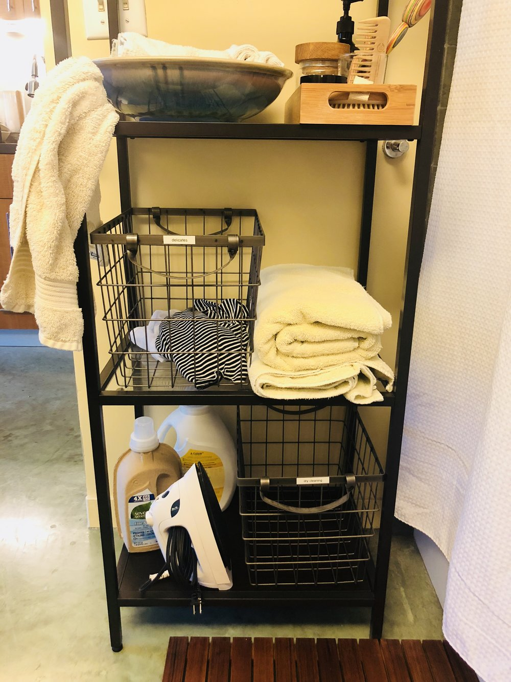 Small laundry baskets | Container Store