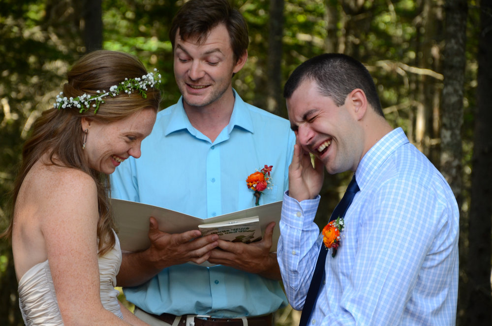 They wrote their own vows and cried through most of them