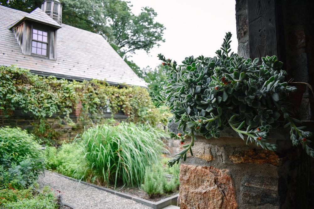 Stone Barns courtyard