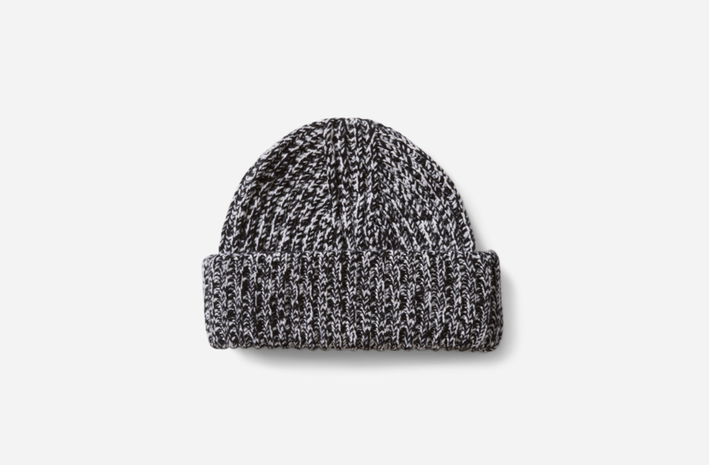 The Everlane Soft Wool Rib Beanie - Everlane produces clothing with exceptional quality, ethical factories, and radical transparency. They share where materials and manufacturing are sourced, along with the true costs. Each year, Black Friday profits are donated to support ethical clothing manufacturing.