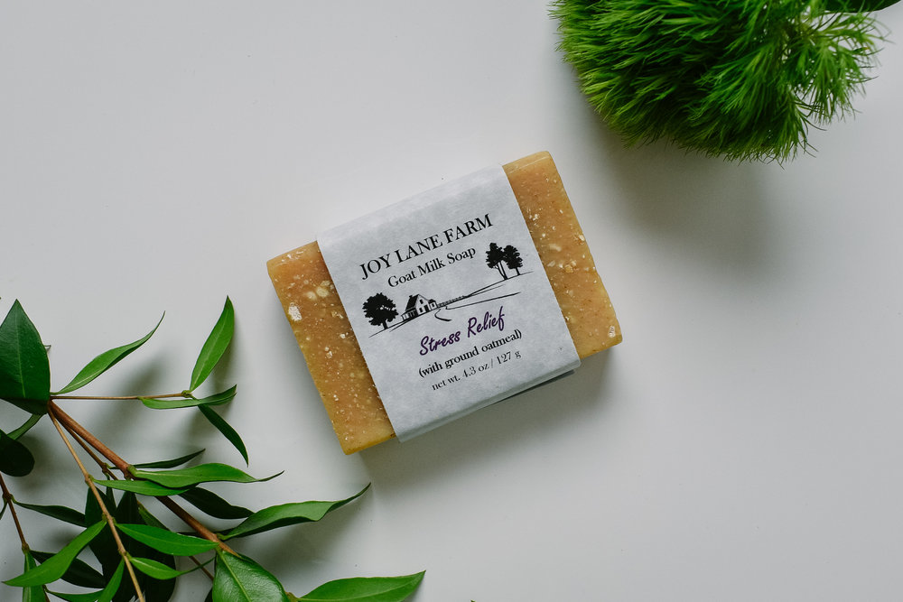 Joy Lane Farm Goat Milk Soap - Joy Lane Farm is a family-run business that uses all-natural ingredients. Their products are sourced locally and produced in their Salmon Falls Upper Mill in Rollinsford, NH. 1% of sales go to Mercy Ships, which brings state-of-the-art hospitals to Africa.
