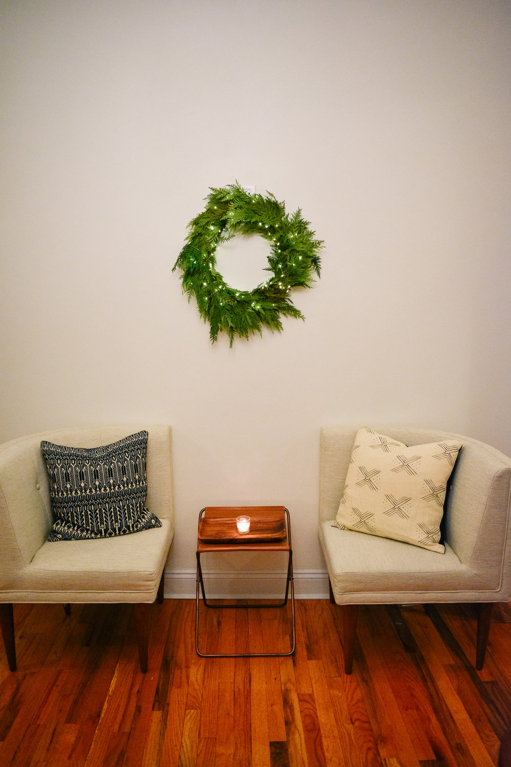 A holiday housewarming party for twelve -