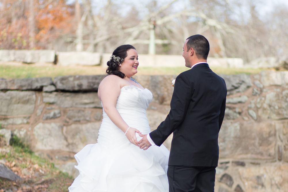 Shaina Lee Photography | Connecticut Wedding Photographer | First Look