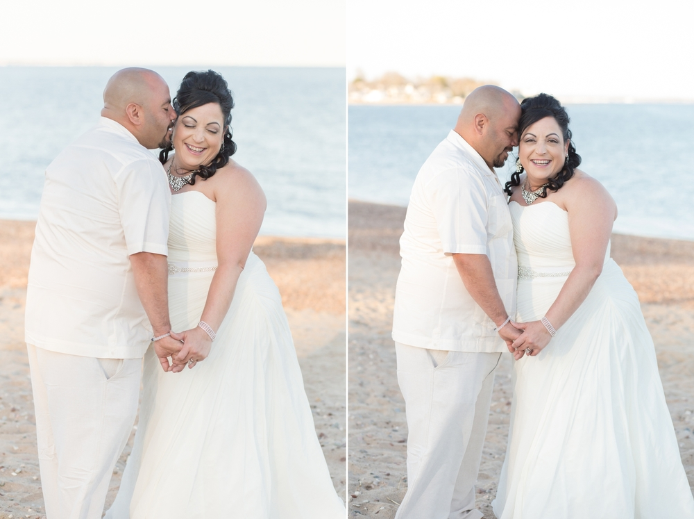 Shaina Lee Photography | Connecticut Wedding Photographer | Fairfield County Wedding Photographer | New Haven County Wedding Photographer | Anniversary Session | Cherish the Dress Session | Woodmont Beach | Beach Wedding