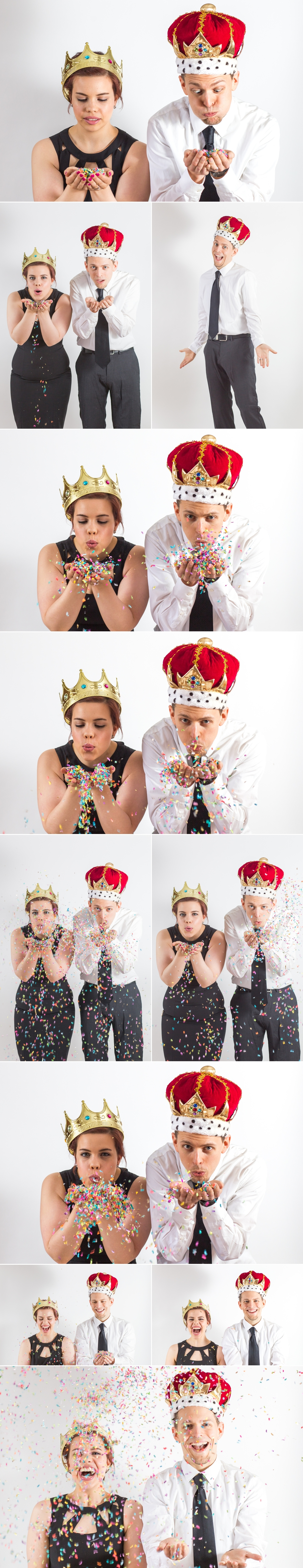 The Confetti Bar Confetti King and Queen Wallingford Connecticut Shaina Lee Photography Connecticut Photographer Head Shots