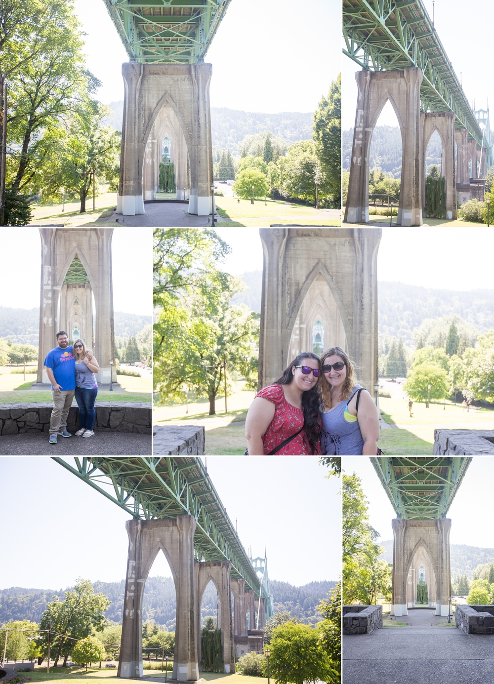 Portland City Sights | Portland, Oregon | Saint John's Bridge | International Rose Test Garden | Shaina Lee Photography | CT, NYC + Destination Wedding + Engagement Photographer