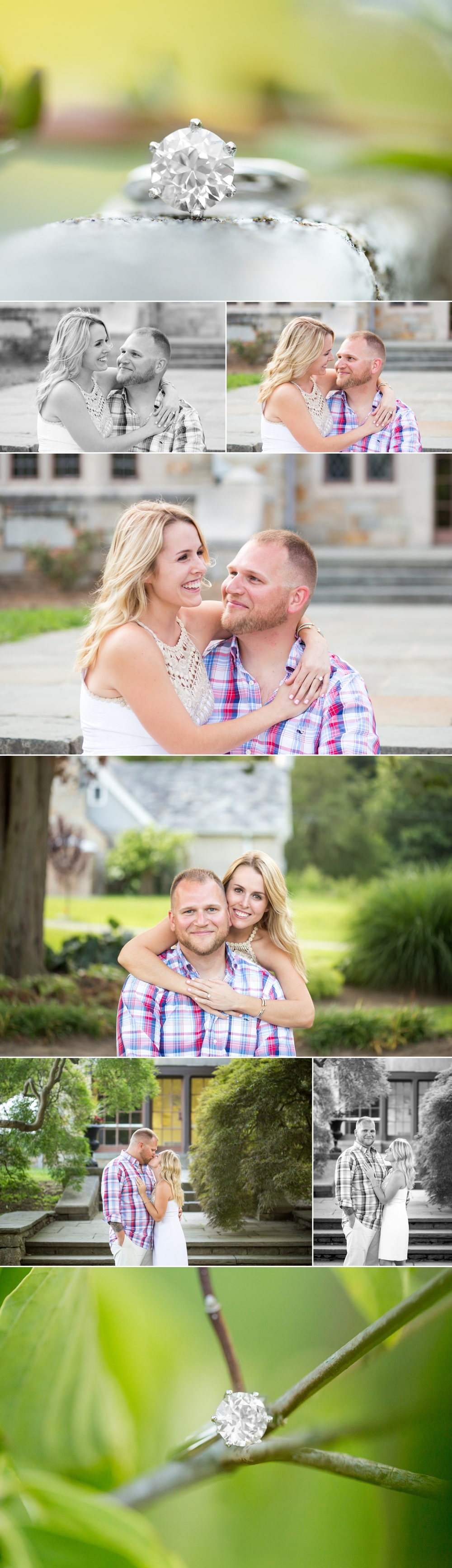 Melissa + Andy | Wedding Proposal | Shaina Lee Photography | CT, NYC + Destination Wedding + Engagement Photographer | Cranbury Park Gallaher Mansion Wedding Proposal | Connecticut Engagement