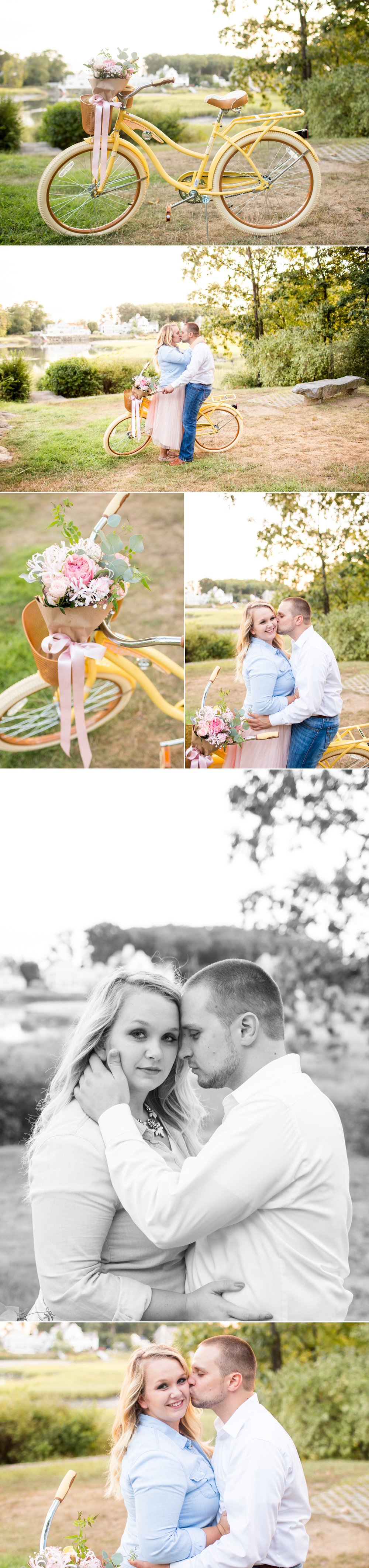 Rowayton, CT Summer Engagement Session Featured on Reverie Gallery | CT, NYC + Destination Luxury Wedding + Engagement Photographer | Shaina Lee Photography