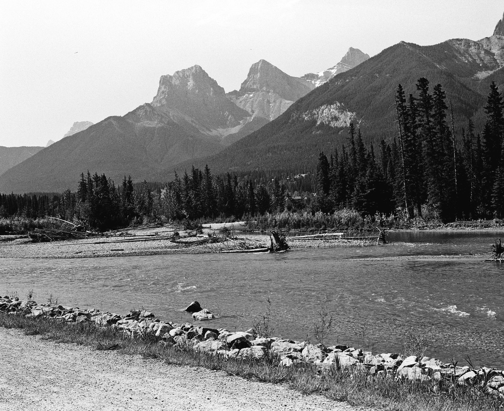 Three Sisters, Canmore