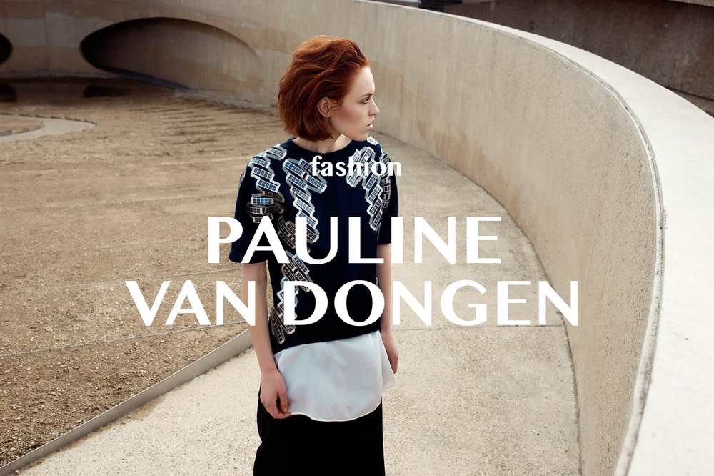 PAULINE VAN DONGEN CREATED THE FUTURE OF FASHION; WEARABLE SOLAR CLOTHING January 20, 2016