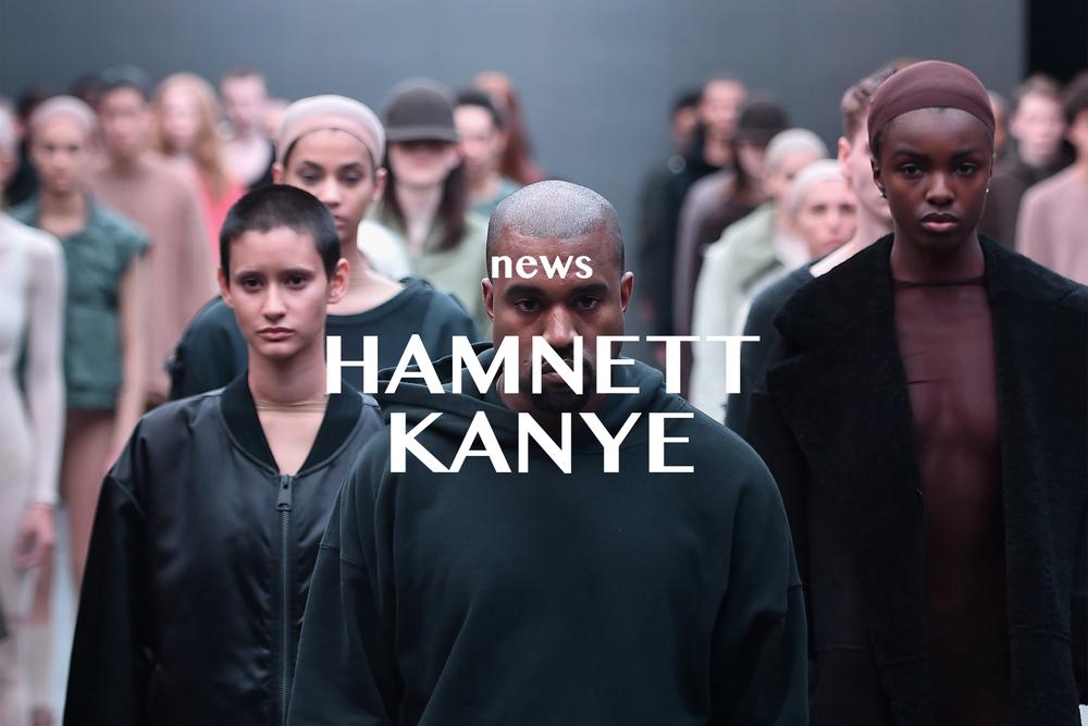 KATHARINE HAMNETT ON WORKING WITH KANYE WEST AND SENDING DRESSES TO KIM KARDASHIAN February 23, 2016