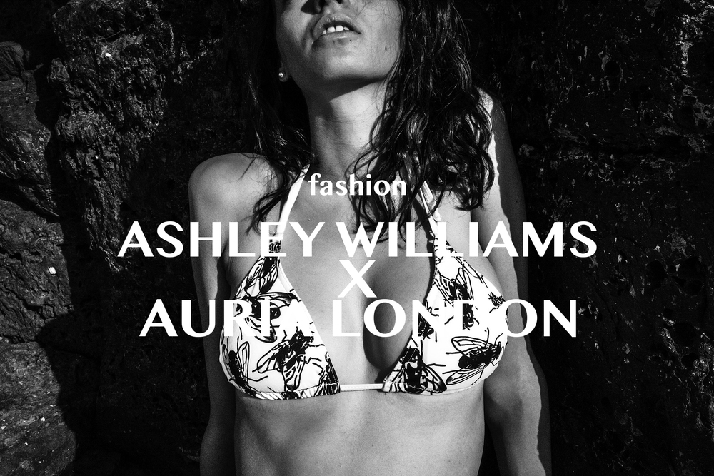 ASHLEY WILLIAMS X AURIA SUSTAINABLE SS '16 SWIMWEAR March 14, 2016