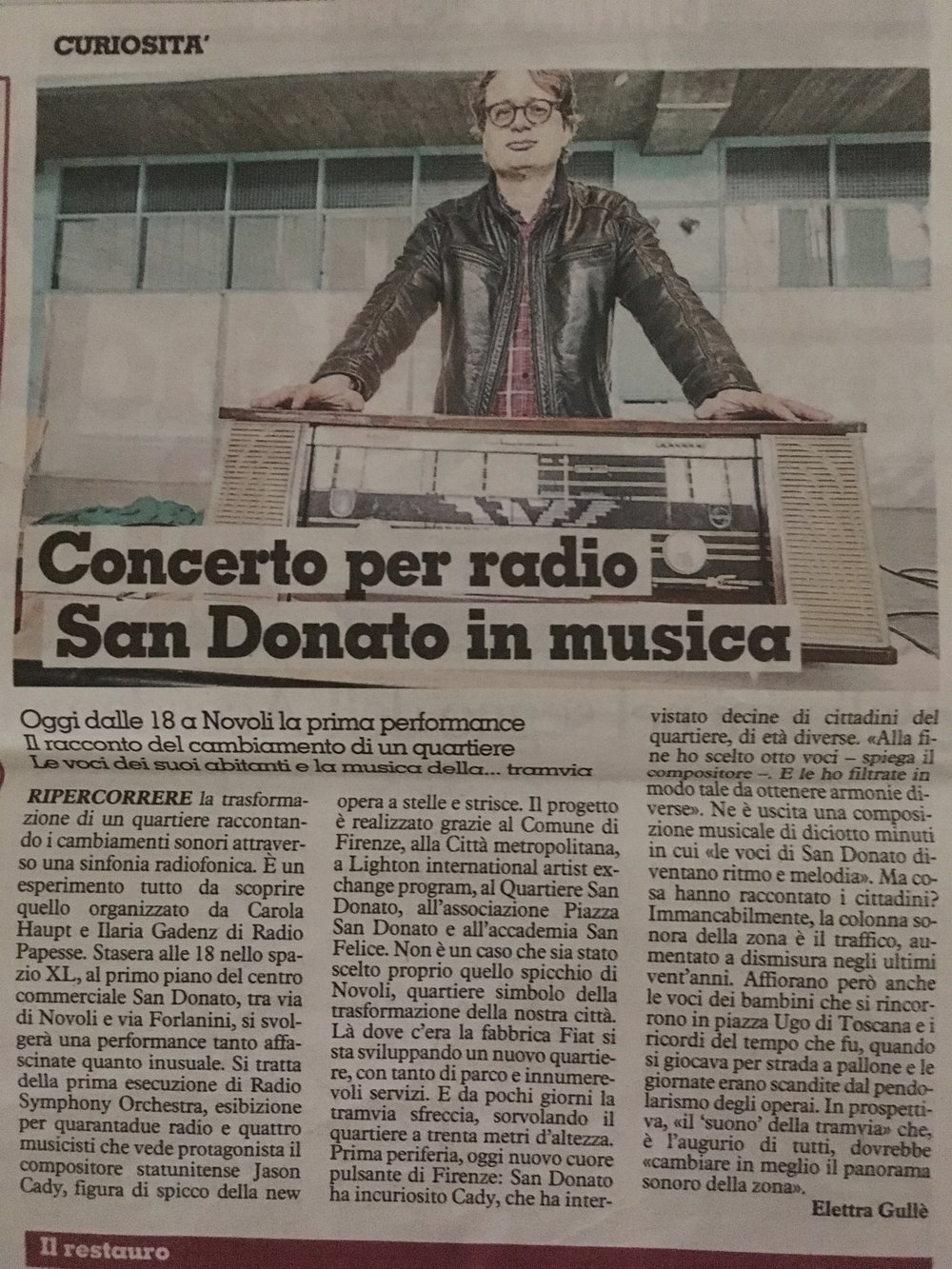 La Nazzione February 22, 2019