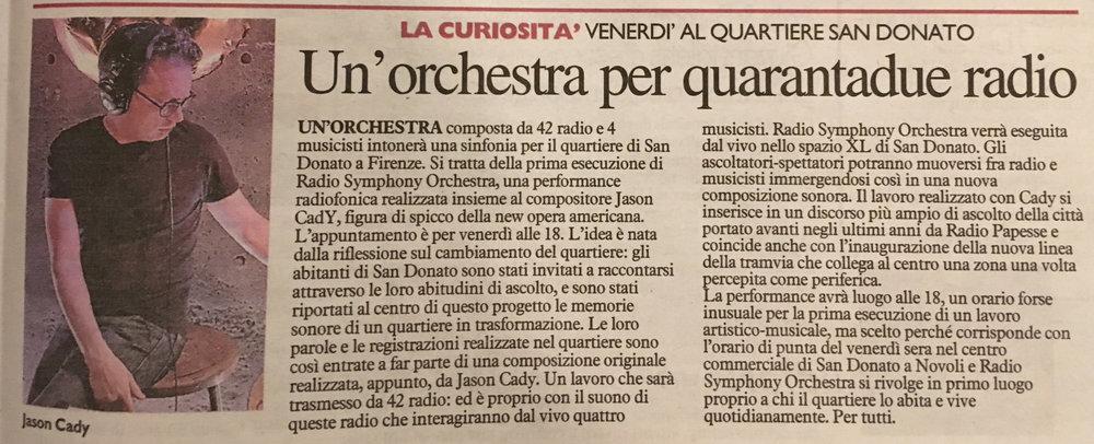 La Nazzione February 19, 2019