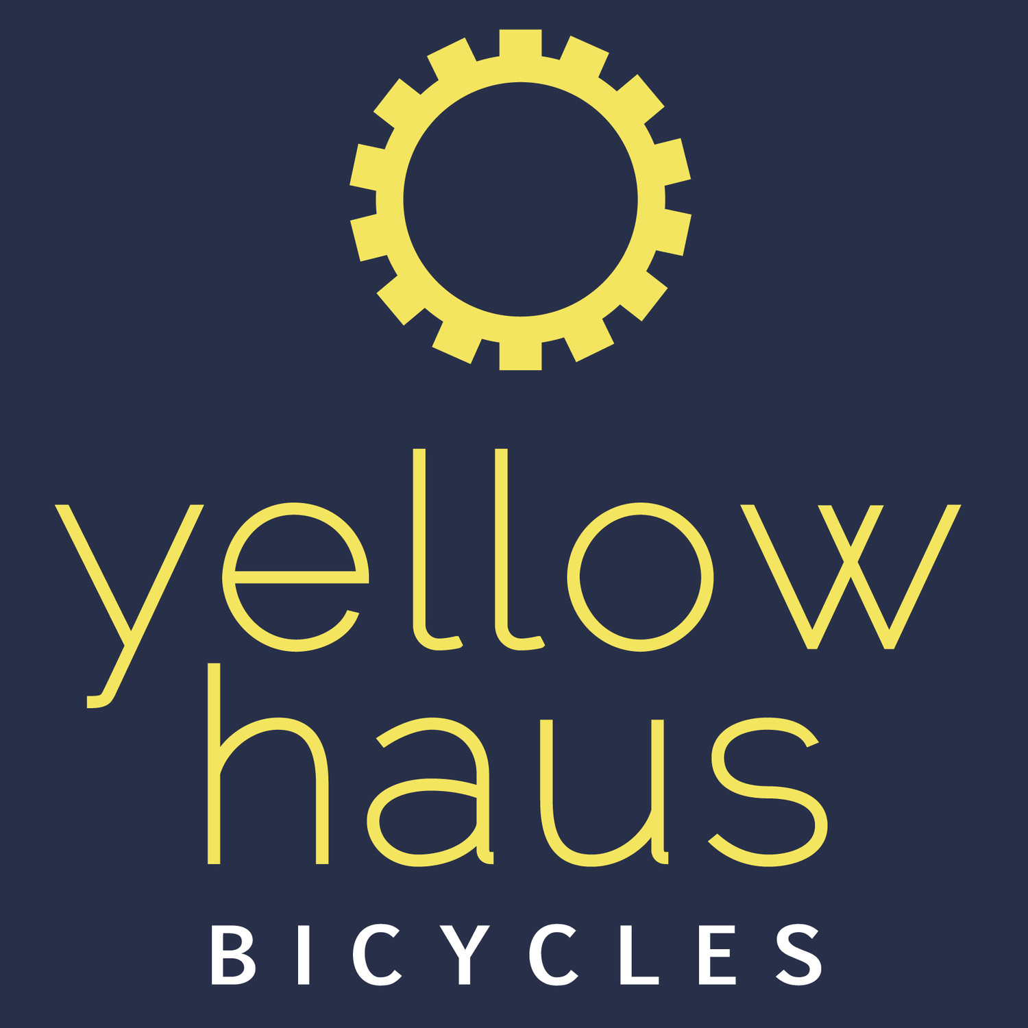 yellow haus bicycles