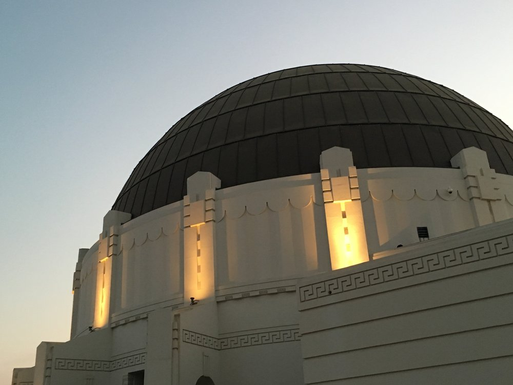 The Griffith Observatory, one of the locations in our beloved La La Land.