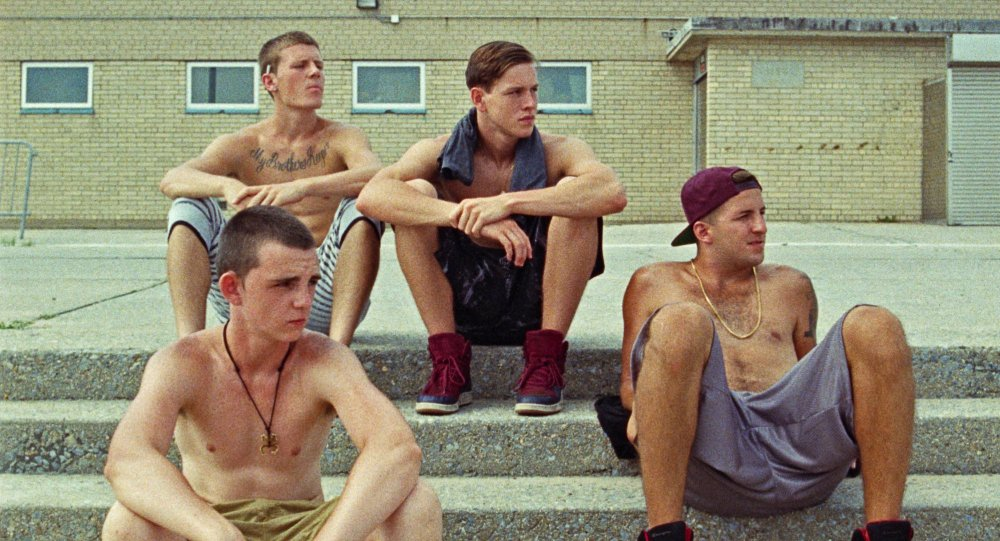 11. Beach Rats - Cinematography by Helene LouvartOn a small unknown budget, Beach Rats was filmed in New York with a 16mm about a teen's sexuality. Photographers can take its non-digital concept and know that film is still the best form of visual storytelling.