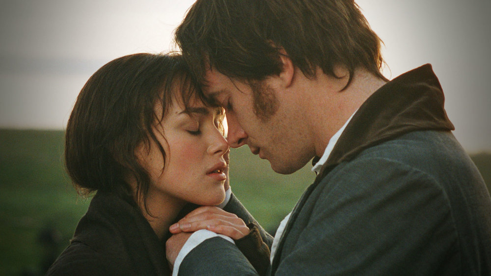 3. Pride & Prejudice - directed by Joe Wright