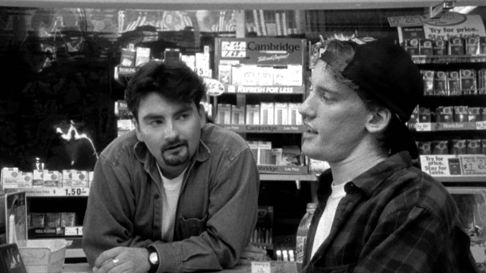 Clerks - directed by Kevin Smith