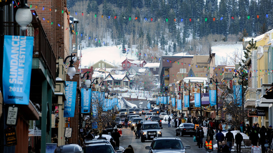 Park City, Utah- home to The Sundance Film Festival