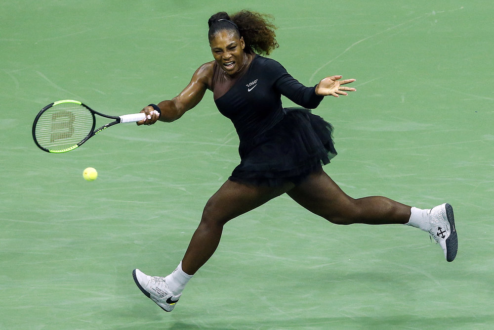 Serena, in all her gloriousness.