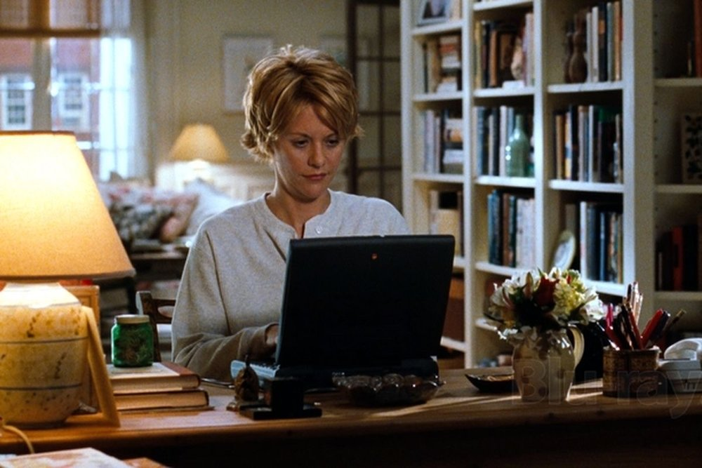 What I think I look like when I'm typing.