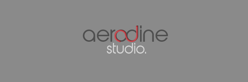 Aerodine Studio™ logo design./