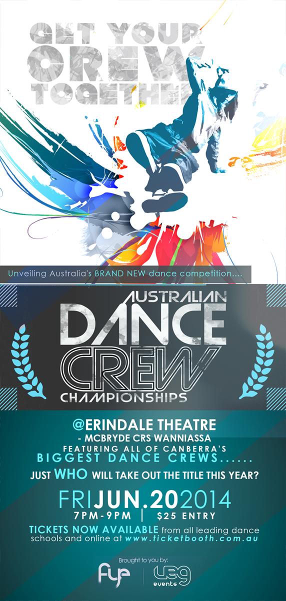 Copy of Australian Dance Crew Championship (2014)./