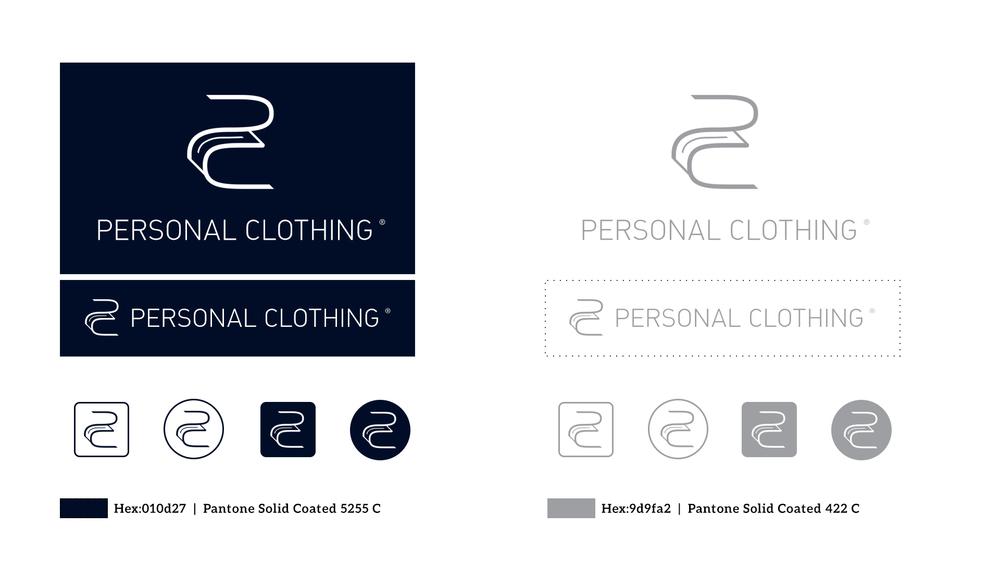 Copy of PC Wear Logo Design./