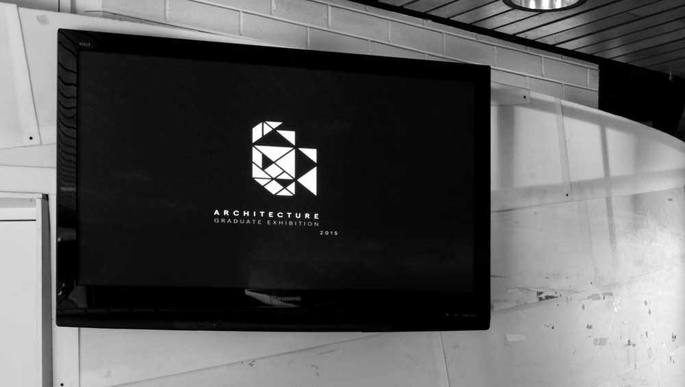 Wall mounted screen with introductory animation- image by James Feng