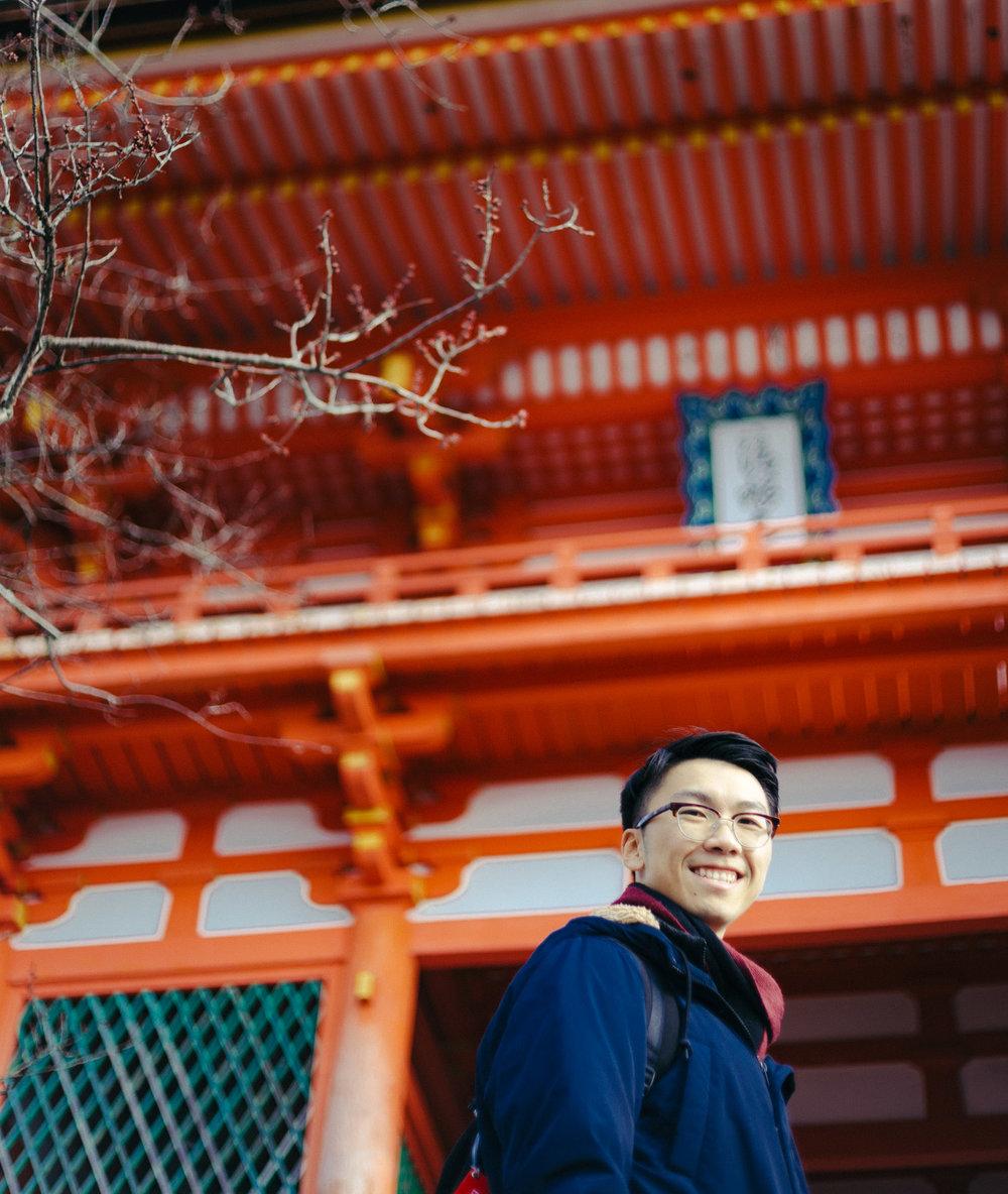 James Feng Kyoto
