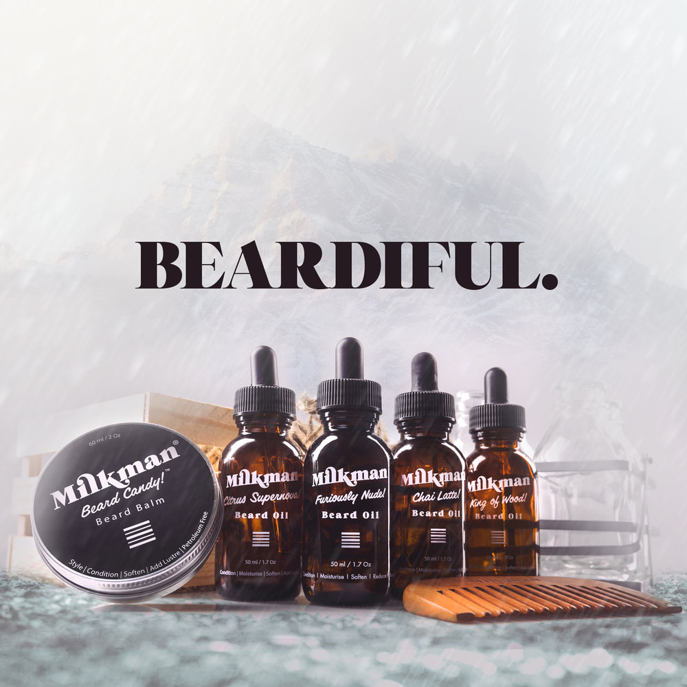 #Beardiful Beard Oil